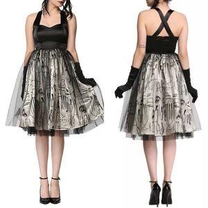 American Horror Story Asylum Doctor Goth Dress XL